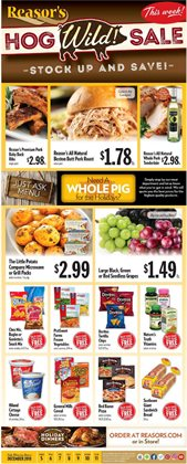Reasors deals in the Tulsa OK weekly ad