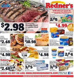 Grocery & Drug deals in the Redner's Warehouse weekly ad in Lancaster PA