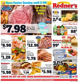 Redner's Warehouse deals in the New Philadelphia PA weekly ad