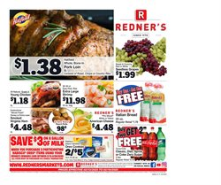 Redner's Warehouse catalogue ( Expires today )