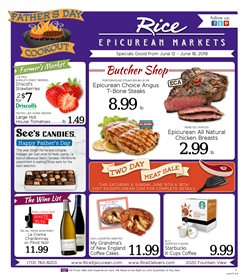 Rice Epicurean deals in the Houston TX weekly ad