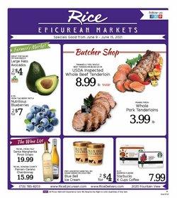Grocery & Drug deals in the Rice Epicurean catalog ( 3 days left)