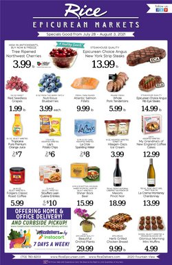 Grocery & Drug deals in the Rice Epicurean catalog ( Published today)
