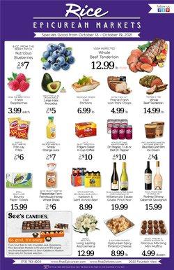 Rice Epicurean deals in the Rice Epicurean catalog ( 3 days left)