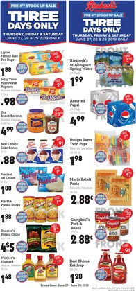 Riesbeck deals in the Zanesville OH weekly ad