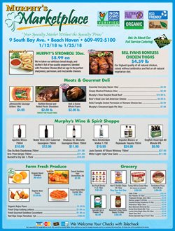 Murphy's Market deals in the Medford NJ weekly ad