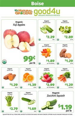Natural Grocers deals in the Salt Lake City UT weekly ad