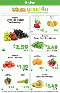 Natural Grocers deals in the Little Rock AR weekly ad