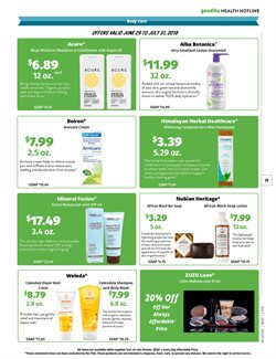 Shampoo deals in the Natural Grocers weekly ad in Arvada CO
