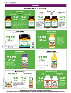 Nails deals in the Natural Grocers weekly ad in Arvada CO
