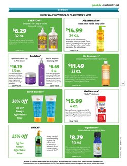 Shampoo deals in the Natural Grocers weekly ad in Kansas City MO