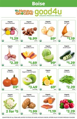 Natural Grocers deals in the Salem OR weekly ad