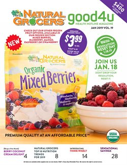 Grocery & Drug deals in the Natural Grocers weekly ad in San Antonio TX