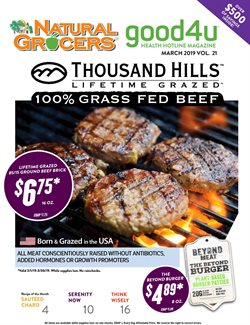 Natural Grocers deals in the Fayetteville AR weekly ad