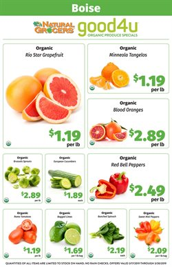 Natural Grocers deals in the San Antonio TX weekly ad