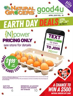 Natural Grocers deals in the Rigby ID weekly ad