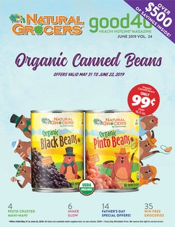 Natural Grocers deals in the Albuquerque NM weekly ad