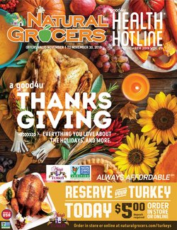 Natural Grocers deals in the Lubbock TX weekly ad