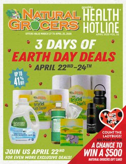 Grocery & Drug offers in the Natural Grocers catalogue in Independence MO ( 23 days left )