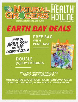 Natural Grocers catalogue in Dallas TX ( 15 days left )