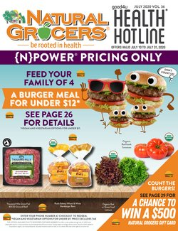 Grocery & Drug offers in the Natural Grocers catalogue in Tyler TX ( 1 day ago )