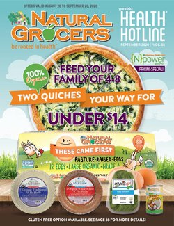 Natural Grocers catalogue ( 3 days left )
