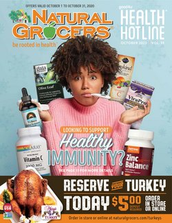 Grocery & Drug offers in the Natural Grocers catalogue in Coralville IA ( 2 days ago )