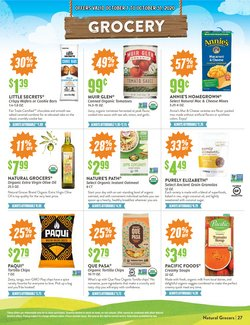 Anchor deals in Natural Grocers