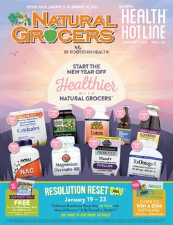 Grocery & Drug offers in the Natural Grocers catalogue in Dubuque IA ( 2 days left )
