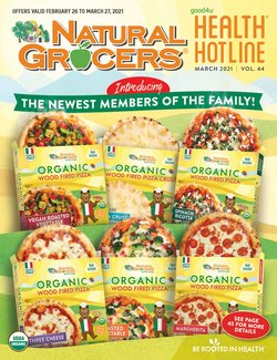 Natural Grocers catalogue ( 21 days left )