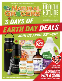 Natural Grocers catalogue ( Expires tomorrow )