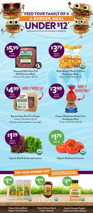 Grocery & Drug deals in the Natural Grocers catalog ( More than a month)