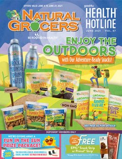 Grocery & Drug deals in the Natural Grocers catalog ( Expires today)