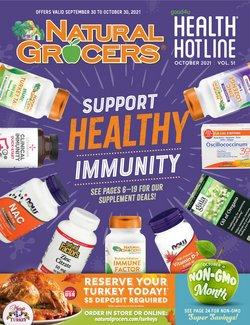 Grocery & Drug deals in the Natural Grocers catalog ( 8 days left)
