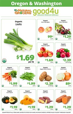 Natural Grocers deals in the Portland OR weekly ad