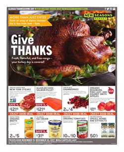 New Seasons Market deals in the Portland OR weekly ad