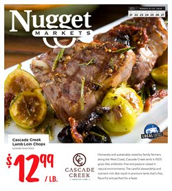 Nugget Markets deals in the Davis CA weekly ad