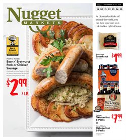 Nugget Markets deals in the Woodland CA weekly ad