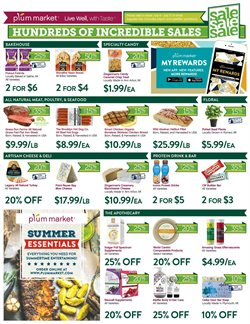 Cheese deals in the Plum Market weekly ad in Livonia MI