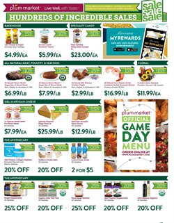 Meat deals in the Plum Market weekly ad in Livonia MI