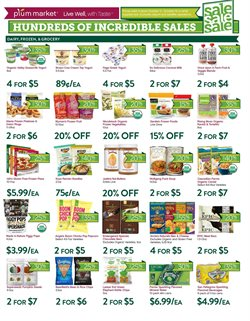 Pasta deals in the Plum Market weekly ad in Livonia MI