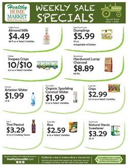 Healthy Home Market deals in the Charlotte NC weekly ad