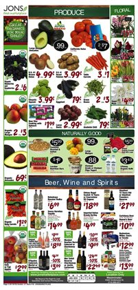 Table deals in the Jons International weekly ad in Garden Grove CA