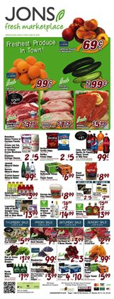 Jons International deals in the Hollywood CA weekly ad