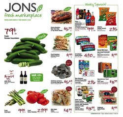Grocery & Drug offers in the Jons International catalogue in Los Angeles CA ( 3 days ago )
