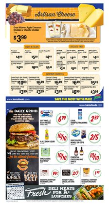 Baseball deals in the Karns weekly ad in Lebanon PA