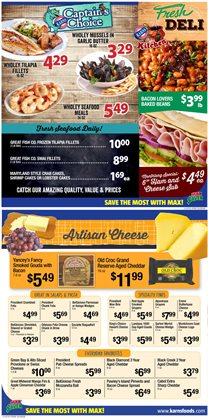 Tours deals in the Karns weekly ad in Lebanon PA
