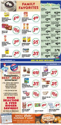 Walker deals in the Karns weekly ad in Lebanon PA