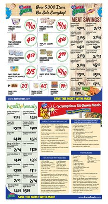 Shampoo deals in the Karns weekly ad in Lebanon PA