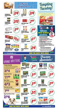Fishing deals in the Karns weekly ad in Lebanon PA